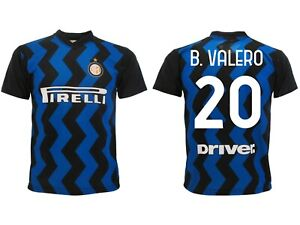 Details about Shirt Borja Valero Inter 2021 Official Jersey Home 2020 Number 20 Nabeel