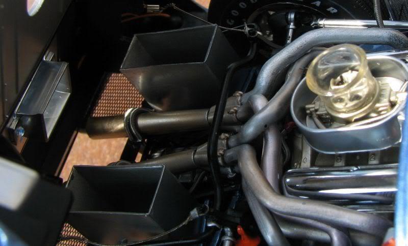 1 A 1967 GT40 Ford GT T 24 LeMans Racing Car Vintage Sportscar Racecar Model 12