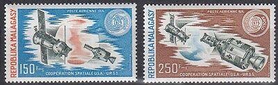 Nr 719-720** Sojus-apollo 1975 Online Rabatt Malagasy Madagaskar
