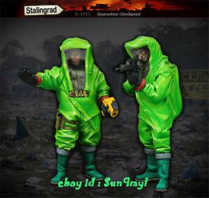 Model-Kits-Bio-soldado-1-35-figura-Mascara-De-Resina-Sin-Pintar-Sin-Montar