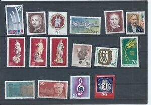 Berlin  West Germany stamps 1974 to 1976 MNH lot B299 - Uxbridge, United Kingdom - Berlin  West Germany stamps 1974 to 1976 MNH lot B299 - Uxbridge, United Kingdom