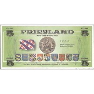 TWN - FRIESLAND Netherlands 5 Euro2009 UNC Private issue li8fhwz1-07140852-105547099