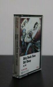 """AC/DC """"Dirty Deeds Done Dirt Cheap""""Aussie Recording 1976 Albert Recording (EX)"""
