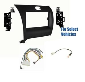 Double Din Car Stereo Radio Dash Wire Kit Combo for select ...