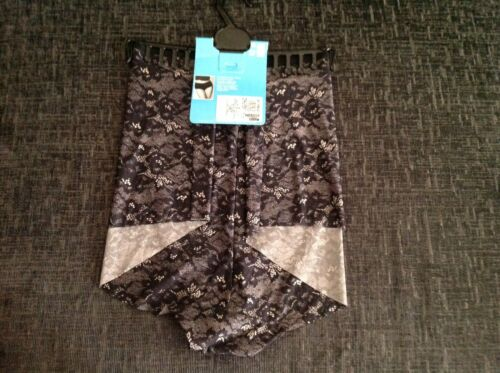 Nouveau Marks And Spencer Lingerie Taille Haute Short Taille 26 RRP £ 6 dentelle