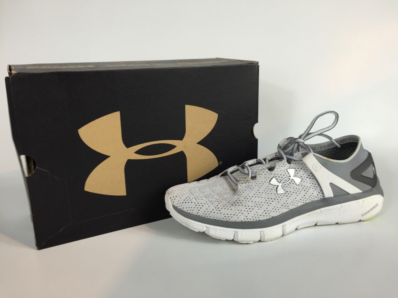 Under Armour UA Speedform Fortis hommes gris And blanc Sneakers