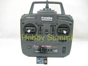 Futaba-2-4GHz-4-Channel-ATTACK-4YWD-re-1-15-1-16-R-C-Tank-DMD-Full-Opt-MF-Unit