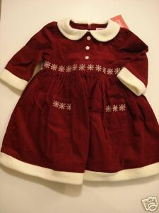 2cd8261a8f36c Image is loading NWT-Gymboree-Family-Portrait-Cord-Snowflake-Dress-18-