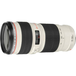 Canon EF 70-200mm f/4L USM Lens NEW 2578A002