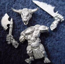 1998 Chaos Beastman Minotaur with Additional Hand Weapon 2 Citadel Beastmen Army