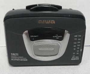 Aiwa TA171 AM/FM Personal Stereo Radio Cassette Tape Player Walkman