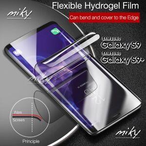 PELLICOLA-CURVA-TPU-per-Samsung-Galaxy-S8-S9-PLUS-Protezione-SCHERMO-BORDI