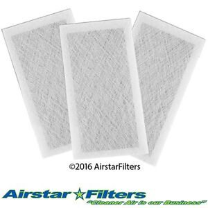White 3 Pack Dynamic Air Cleaner Replacement Filter 14x30