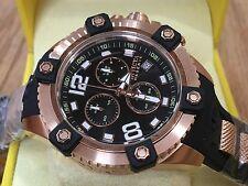 11175 Invicta Reserve 48mm Octane Swiss Quartz Chronograph Rose-Gold Case Watch