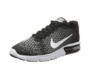 77f29b9dc56 Nike Air Max Sequent 2 Running Shoe Black White-Dark Grey-Wolf Grey ...