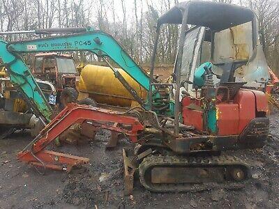Less Expensive Dipper Arm ! Komatsu Pc07/2 Mini Digger Excavator Dismantling For Parts !