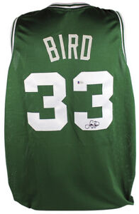 0b1078ef3 Image is loading Celtics-Larry-Bird-Authentic-Signed-Green-Jersey- Autographed-