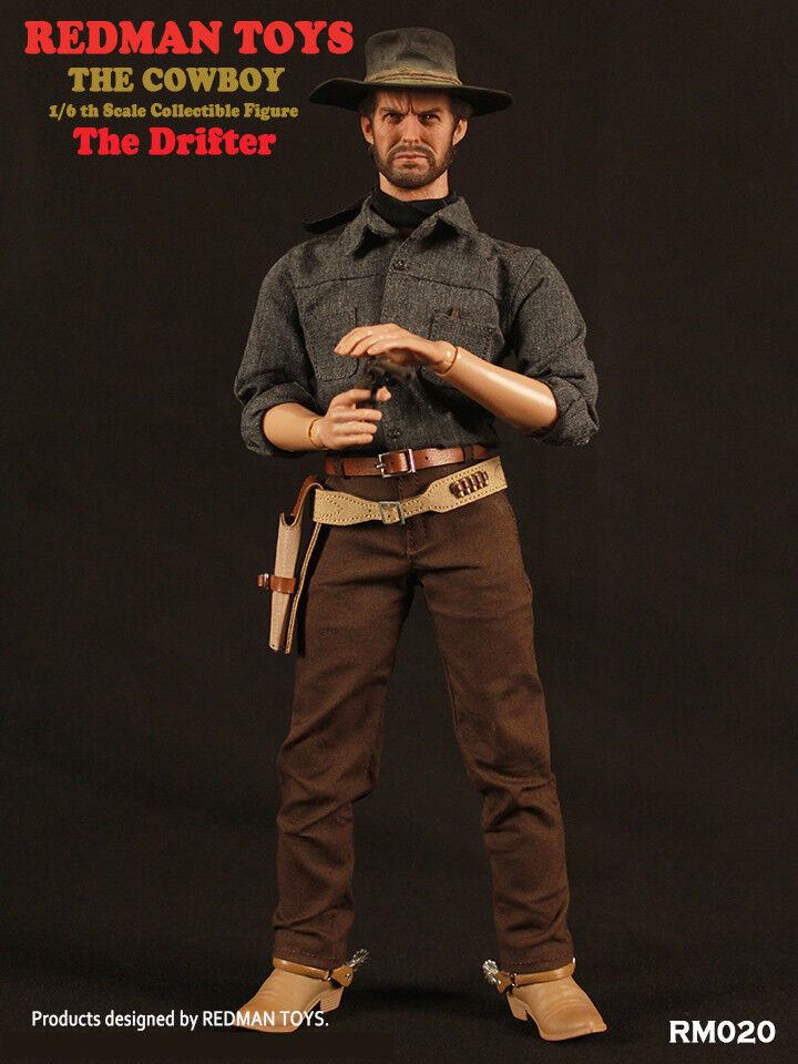 REDMAN TOYS RM020 1 6 Scale Deputy Town Drifter The Cowboy Male Action Figure