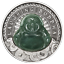 2019-LAUGHING-BUDDHA-1-Dollar-1oz-9999-SILVER-ANTIQUED-JADE-Insert-COIN thumbnail 2