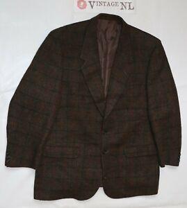 Harris-Tweed-Sakko-Gr-28-etikett-56-Jacke-fein-hochwertig-mit-schaden