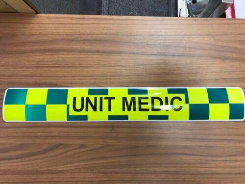 Magnetic Battenberg With Unit Medic Ambulance vehicle emergency response x 2