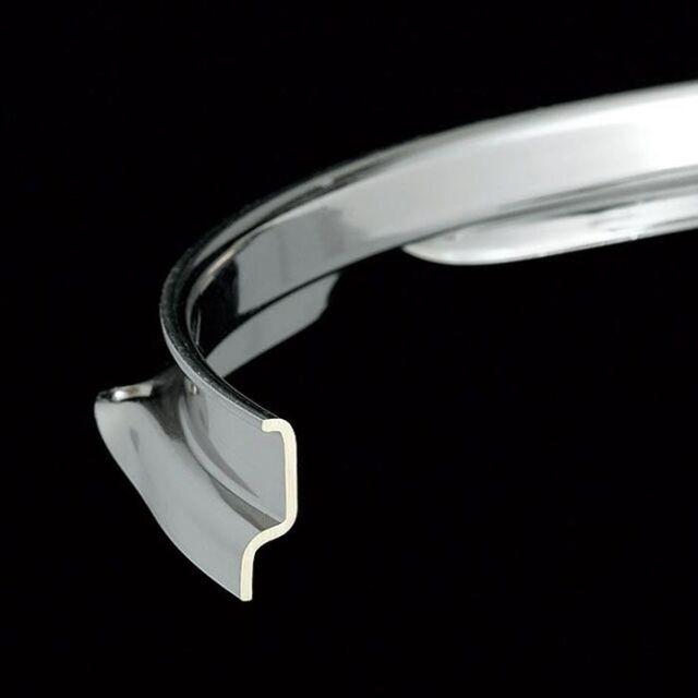 Tama Drum Hoop : Brass Flanged 14 10-Lug Nickel Plated