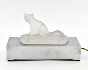 Lamp-Ambient-Glass-Moulded-Fox-Fox-Molded-Glass-Night-Light-Years-30