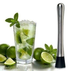 Cocktail-Muddler-Stainless-Steel-Handle-Bar-Mixer-Barware-Cock-Drink-Mojito-K5M8