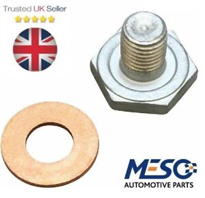 Engine Oil Sump Pan Drain Plug With Gasget for Ford S-MAX Galaxy 1.8 Diesel 2006