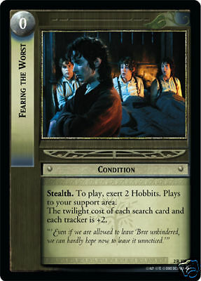 x4 LOTR TCG  2R15 What Are We Waiting For