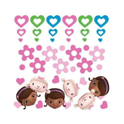 DOC MCSTUFFINS BIRTHDAY PARTY TABLE CONFETTI 3 PACK 674269