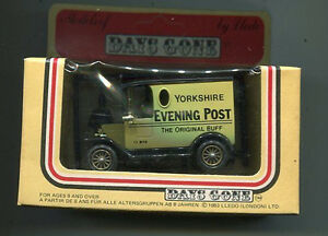 Lledo-Days-Gone-1984-Delivery-Van-Yorkshire-Evening-Post-die-cast-MIB