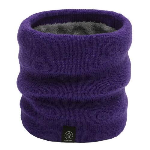 Men Women Winter Scarf Thick Knitted Scarves Warmer Neck Warm Unisex Mufflers