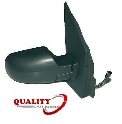 Door Wing Mirror Manual Textured Right Side O//S Ford Fiesta Mk6 2002-2005 New