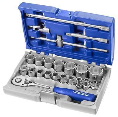 Expert E111104B Stubby Ratchet Spanner Set 7 Piece Metric