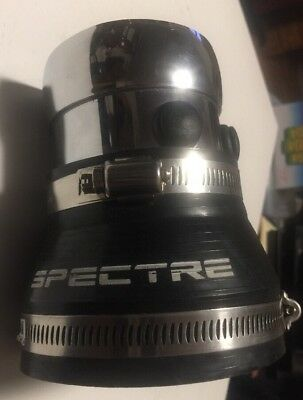 """SPECTRE Blue 8756 3/"""" 2.5/"""" 76mm to 64mm Soft PVC Silicone Coupler Reducer"""