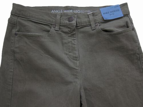 NUOVA LINEA DONNA STIVALETTI Verde Gamba Larga Jeans Next Taglia 14 12 10 Long REG Petite RRP £ 30