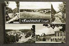 Hundshübel Kr. Aue mit Autowerkstatt und Gasthof und Schnelleinkauf / DDR AK 2
