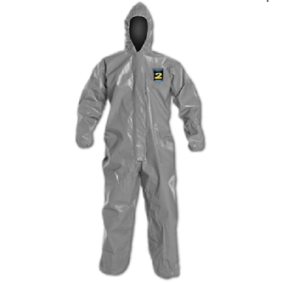 KAPPLER System CPF 3 Hazmat Protective Suit Size Large Coverall