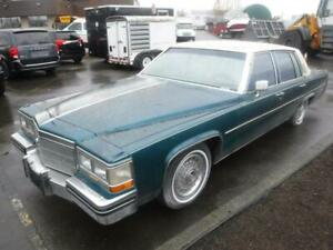 1984 Cadillac Sedan DeVille in green, Automatic Transmission
