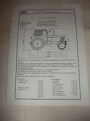 KüHn Ddr Werbung Reklame Prospekt Datenblatt Traktor Zt 300/304 Veb Schönebeck 1981 Ein Kunststoffkoffer Ist FüR Die Sichere Lagerung Kompartimentiert Ddr & Ostalgie