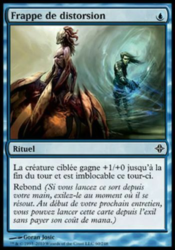 Distortion Strike ▼▲▼ Frappe de distorsion ELDRAZI #009 FRENCH  Magic