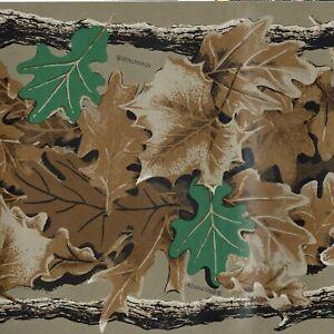 Mossy Oak Leaf Camouflage Wallpaper Border Bill Jordans Realtree