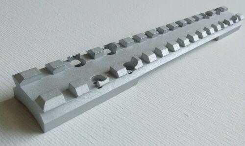 Picatinny Rail 60 MOA for Browning XBolt LA long action BLACK