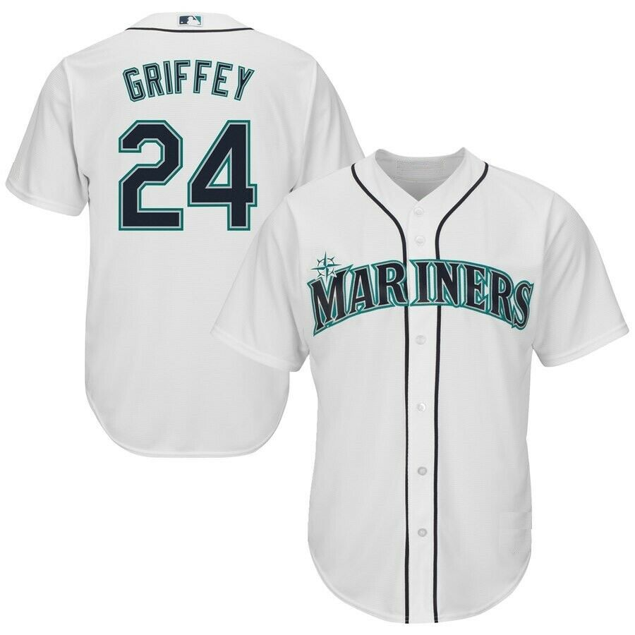 Ken Griffey Jr. Seattle Mariners Cool Base Spieler Baseball Jersey Jersey Jersey MLB Trikot ec6898