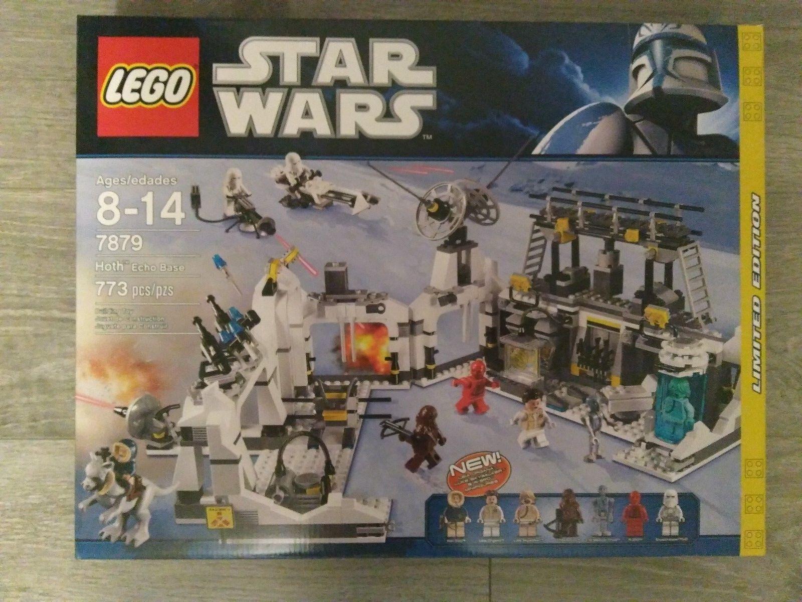 Lego Star Wars Hoth Echo Base 7879 Brand New Sealed In Box