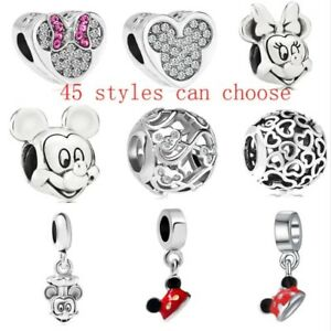 CHARMS-DISNEY-CIONDOLI-TIPO-PANDORA-MINNIE-MICKEY