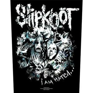 OFFICIAL-LICENSED-SLIPKNOT-I-AM-HATED-SEW-ON-BACK-PATCH-METAL-COREY