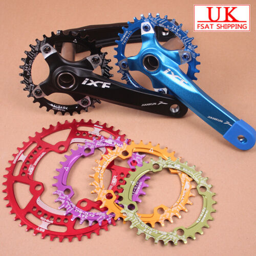 104bcd 30-52t Chainset Crank set Narrow Wide Round Oval MTB Bike Chainring ring