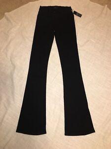 Nwt Noir en Pantalon Taille Ae tricot Orleans évasé Gold 883435529021 24 108 Juliette rqPrXxUHw